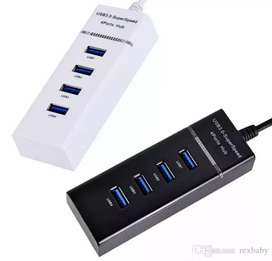 Hub Multipuerto Usb 4 Puertos Switch 3.0 5Gbps
