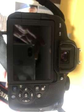 Vendo camara Canon t7i