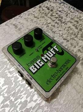 Pedal para bajo big muff Electro-harmonix