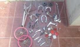 Repuestos varios de bicicleta