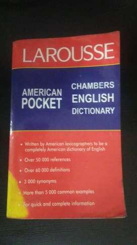 Diccionario Inglesingles Larousse Original