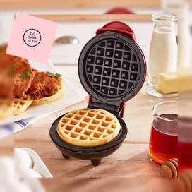 Mini waflera eléctrica