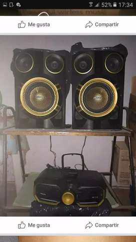 Vendo equipo de música poco uso