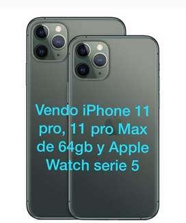 Vendo iphone 11 pro max y 11 pro Nuevos