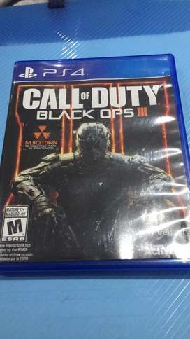 Video Juego Call Of Duty Bo3 para Ps4