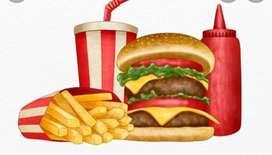 Busco persona con experiencia en la preparación de comida rápidas