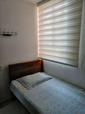 Se alquila 2 habitaciones amobladas en piedecuesta Santander conjunto cerrado reserva de la loma