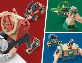 Nintendo Labo Kit Vehiculo Nuevo