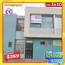 CxC Venta Casa en Conjunto, Cutuglagua, Exp. 3630