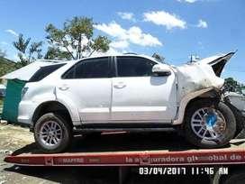 MATRICULA CANCELADA Toyota Fortuner Repuestos