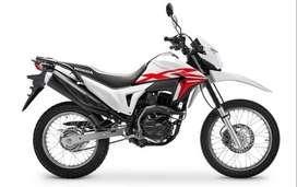 Honda XR 190 0km c/Cuotas fijas 100% Financiado con DNI!!