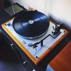 Bandeja Giradiscos Thorens Td 166 Mk 2 Hi-fi Impecable!!!