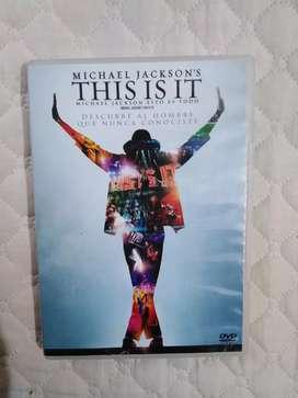 THIS IS IT DVD ORIGINAL REMATE