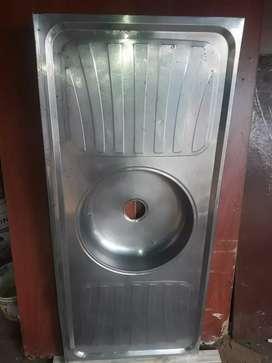bacha de cocina med 1.20 mts x 52cm