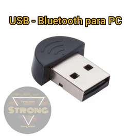 USB emisor de Bluetooth para PC.