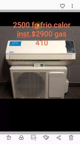 Aire acondicionado frío calor distintas frigorias