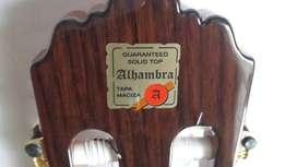 Guitarra Alhambra 4p con mic prefix fishman