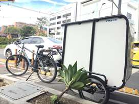 Remolque Bicicleta eléctrica o Moto