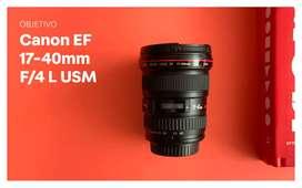 Objetivo Canon 17 40 mm F4 L USM (10/10)