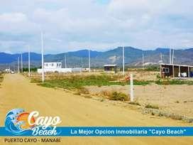 Compra Tu lote en efectivo y construye inmediatamente, Lotización Cayo Beach está ubicada a 5 cuadras de la playa. S1