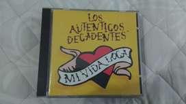 Los auténticos decadentes mi vida loca CD original