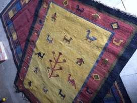 Excelente alfombra de lana