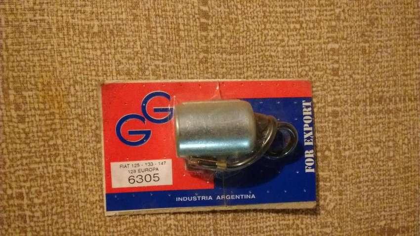 Condensador GG 6305 para Fiat 125 / 133 / 147 / 128 super Europa nuevo 0
