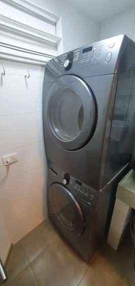Samsung Lavadora + Secadora (gas). Perfecta!