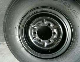Aro Y Llanta Chevrolet Nlr