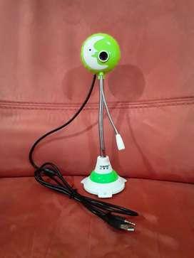 Camara web y microfono