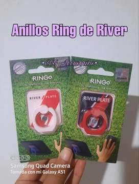 Anillos Ring de cuadros