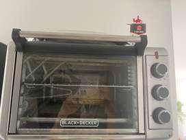 Horno black and decker tres meses de uso