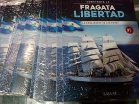 Vendo Fasciculos Construye La Fragata Libertad Salvat
