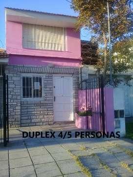 Casa Duplex apto jovenes 250 ts mar faro 4 pers