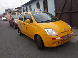 Taxi Spark A/C  coop paquete Chile  $7500