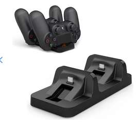 Cargador Controles Ps4 Nuevo Gamebox Sony Ps4 Base Doble