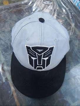 Transformers Gorra