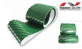 Bandas o Cintas Transportadoras de PVC - FDA con Guías