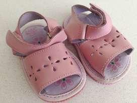 Sandalias Zara Para Bebé Nena Número 17 Excelente Estado