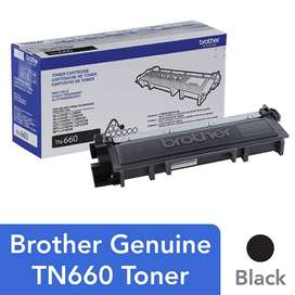 Cartucho De Tóner Brother Tn660, Tóner Negro.