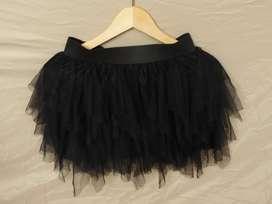Falda tutú negro