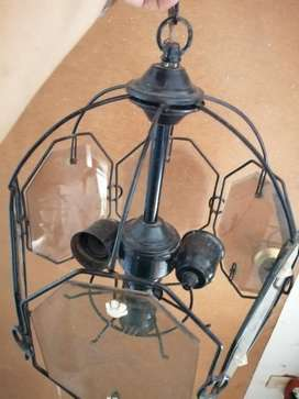 Lámpara Colgante 3 Bombillos
