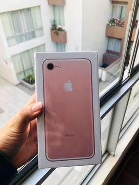 Iphone 7 32gb rose gold nuevo sellado en caja