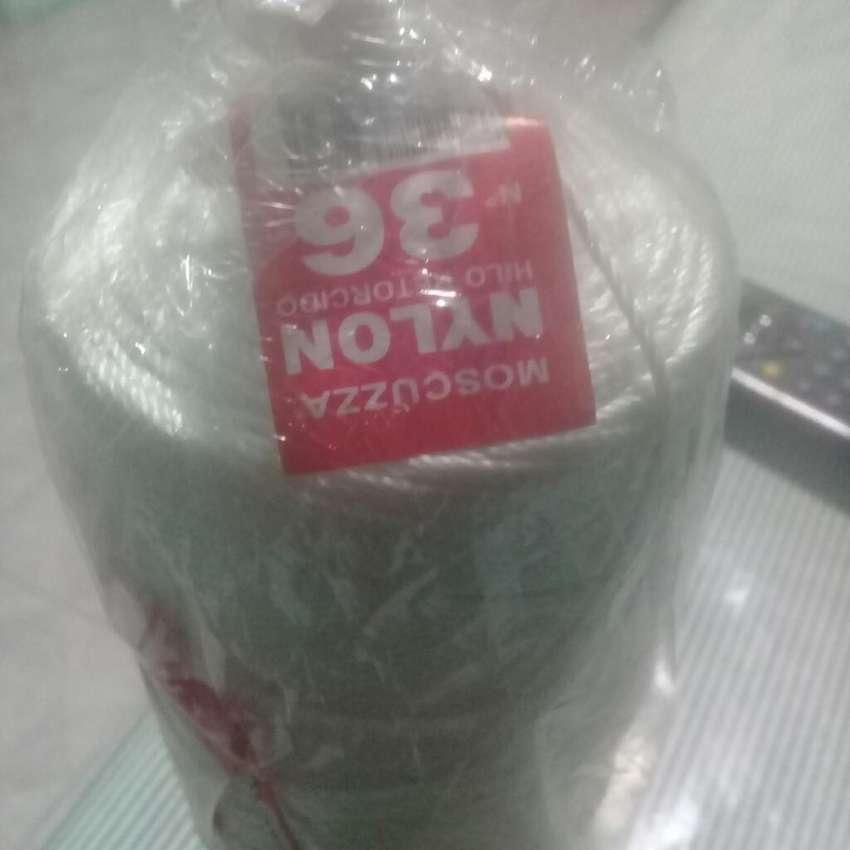 Hilo nylon Moscuzza 36 tejer red de pesca 0