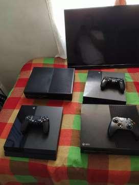 Play 4 y xbox one a la venta Play 620 y xbox one 580