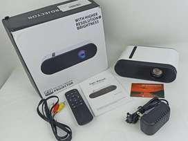 Video Beam Mini Portátil Economico E200 Mini Proyector 1000 Lumens