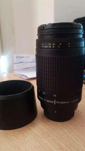 Lente Nikon 70/300 AF