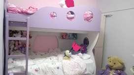 Juego de dormitorio para niñas