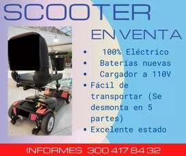 Scooter eléctrico de 4 ruedas en venta