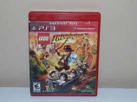 Lego Indiana Jones 2 Juego PS3 Play Station 3